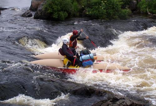 Белрафт - катамараны река Тумча
