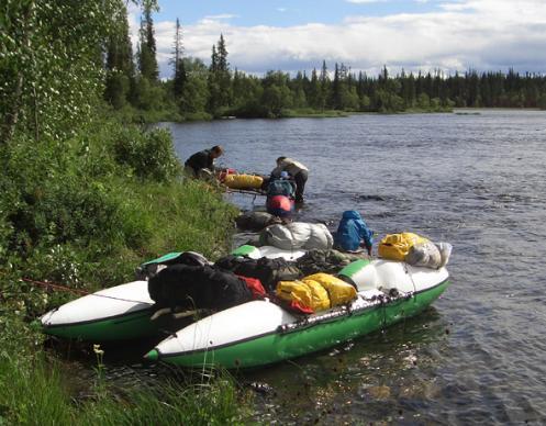 Река Умба 2005 (Белрафт 2тт)